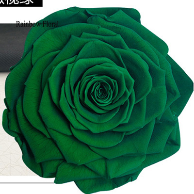 9-10CM Big Size preserved Rose head(1pcs-box)-03