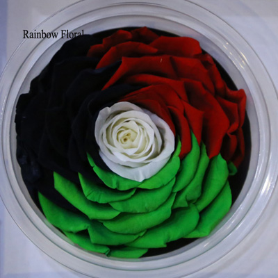 9-10CM Big Size preserved Rose head(1pcs-box)-18